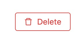 Preview of delete button